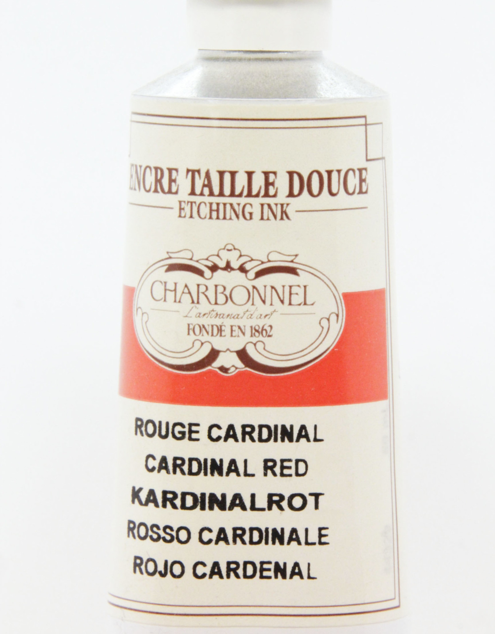 Charbonnel, Etching Ink, Cardinal Red, Series 4, 60ml, Tube
