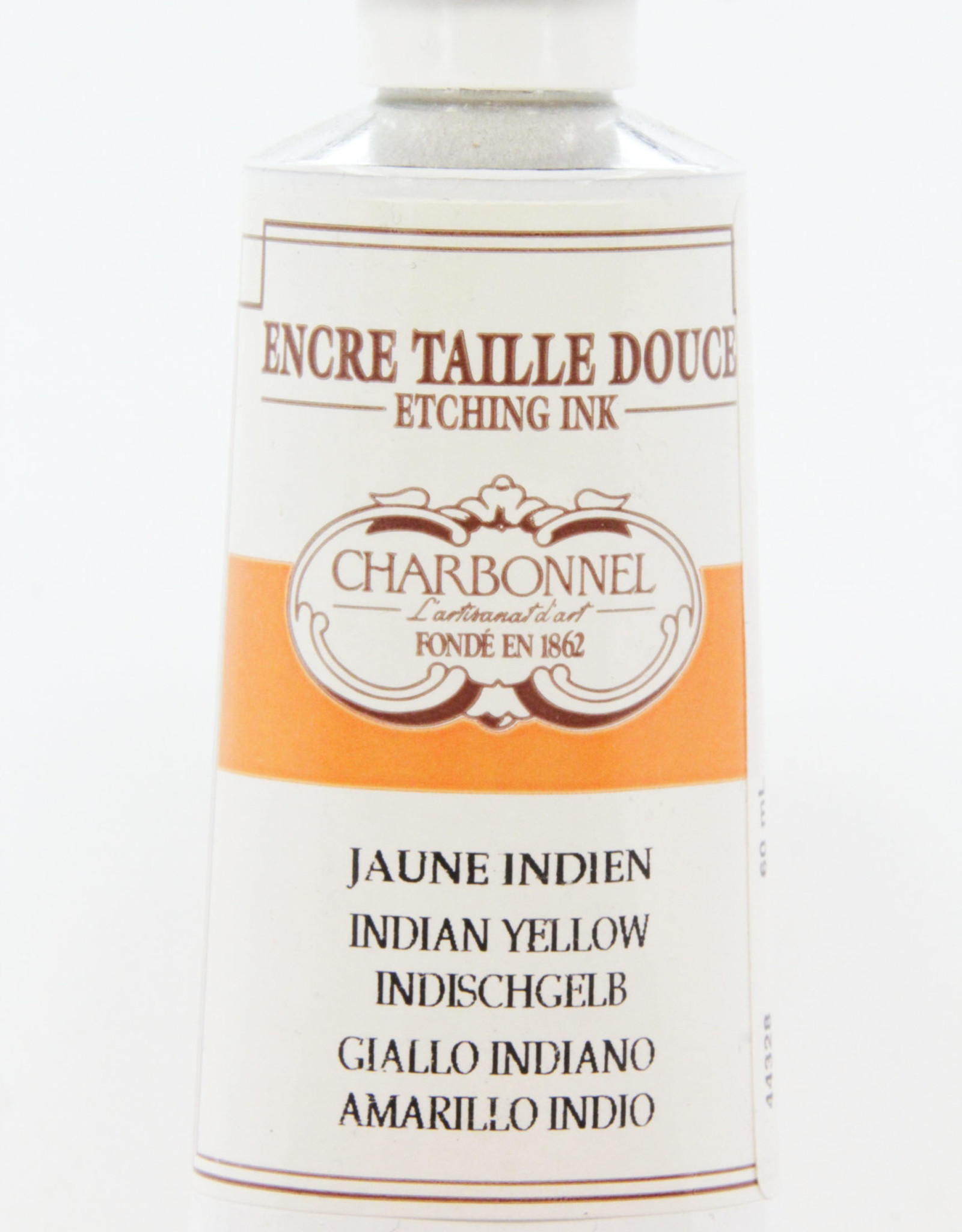 Charbonnel, Etching Ink, Indian Yellow,  Series 4, 60ml, Tube
