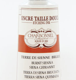 France Charbonnel, Etching Ink, Burnt Sienna, Series 2, 60ml, Tube
