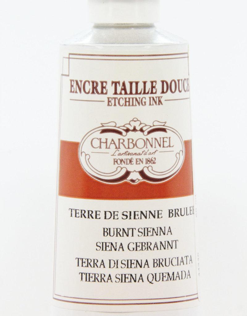 Charbonnel, Etching Ink, Burnt Sienna, Series 2, 60ml, Tube