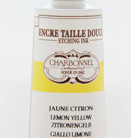 Charbonnel, Etching Ink, Lemon Yellow, Series 4, 60ml, Tube