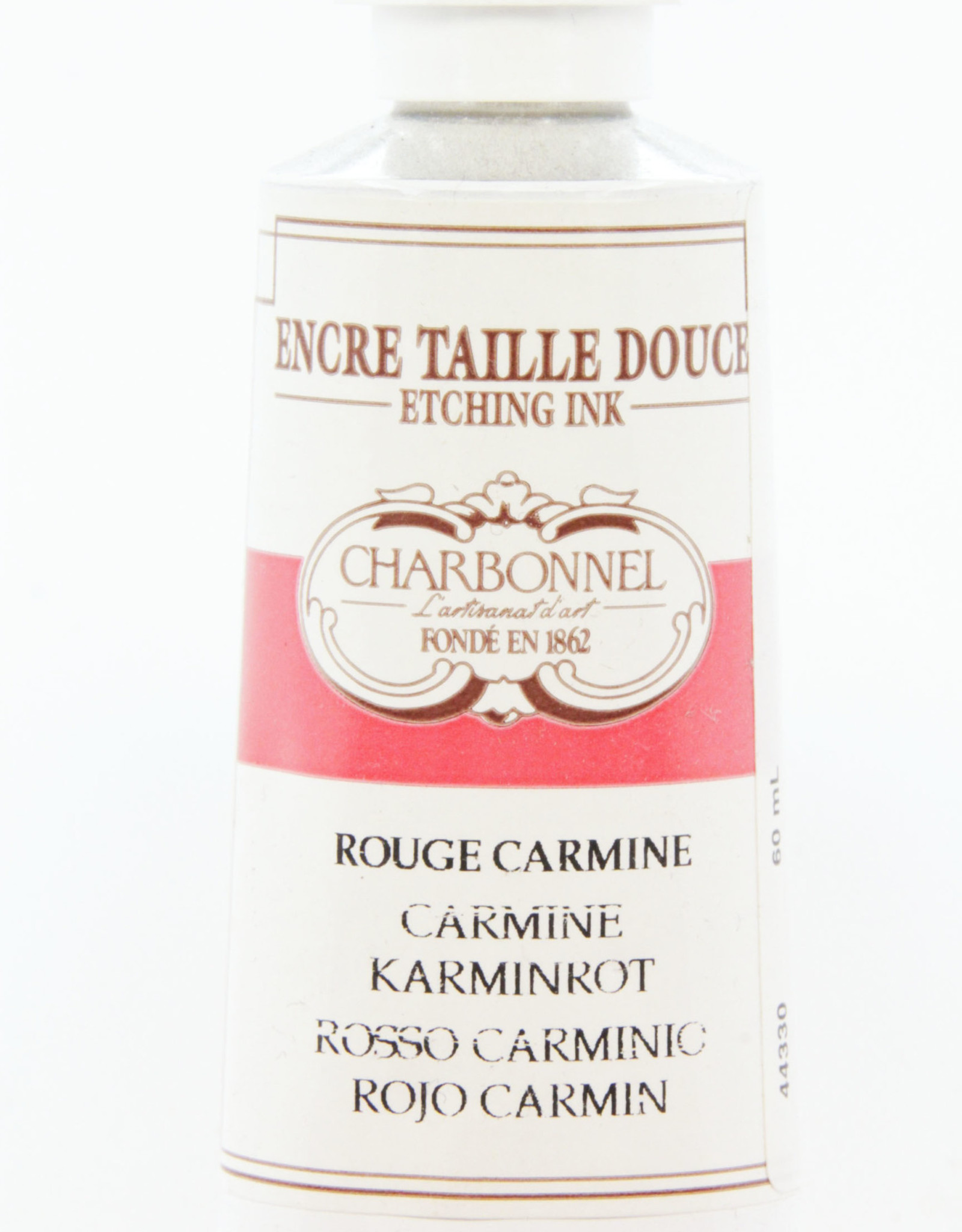 Charbonnel, Etching Ink, Carmine Red, Series 5, 60ml, Tube