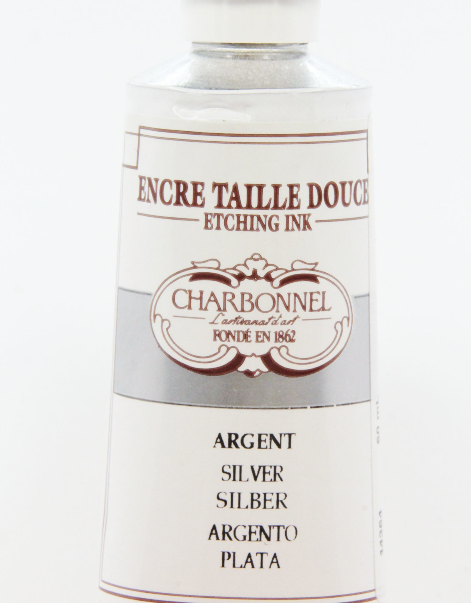 Charbonnel, Etching Ink, Silver, Series 4, 60ml, Tube