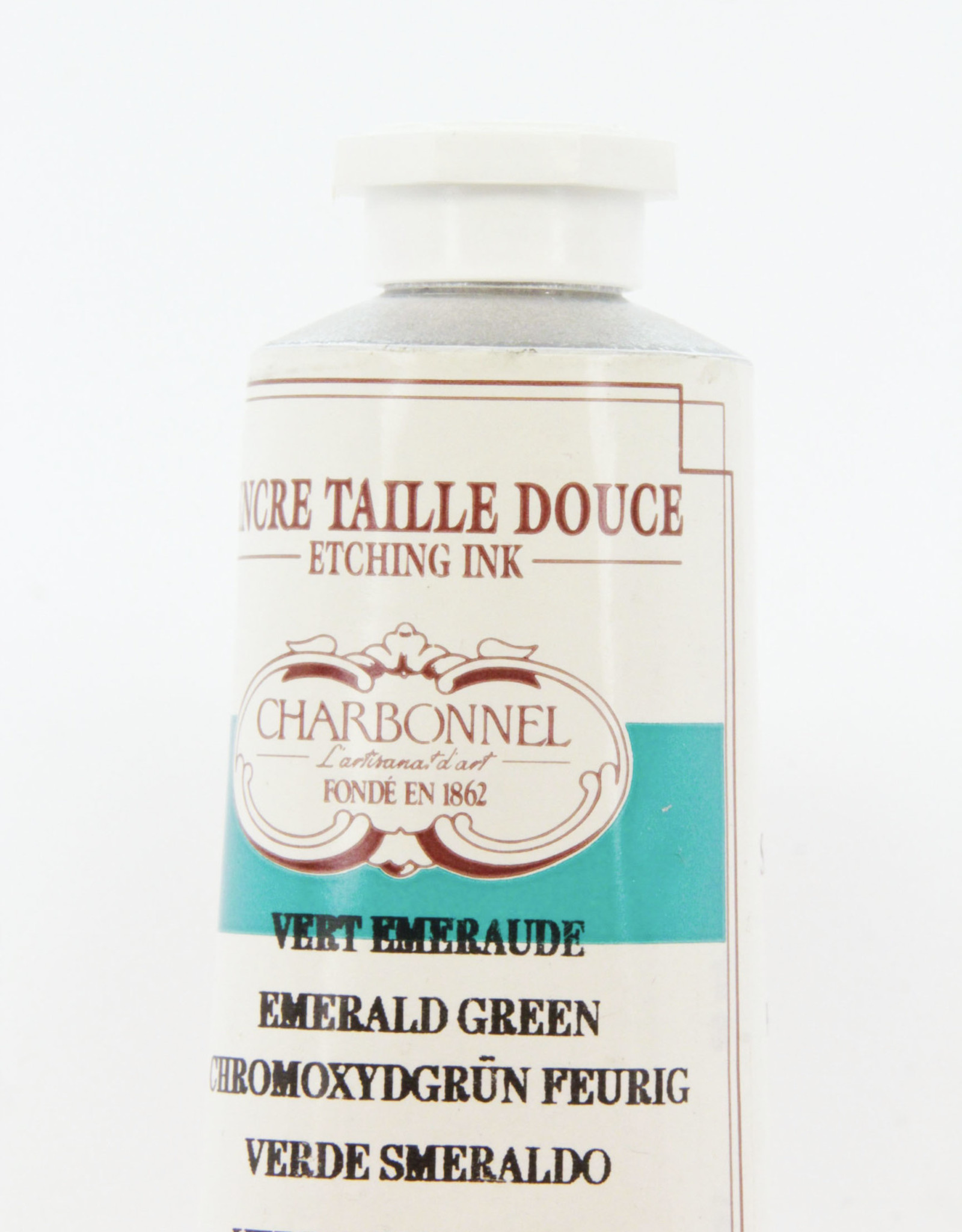 Charbonnel, Etching Ink, Emerald Green (Viridian), Series 4, 60ml, Tube