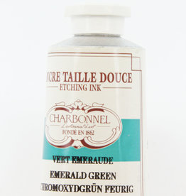 France Charbonnel, Etching Ink, Emerald Green (Viridian), Series 4, 60ml, Tube