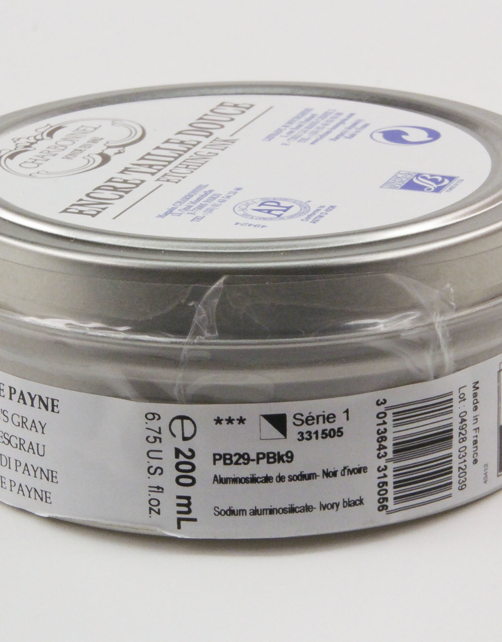 Charbonnel, Etching Ink, Payne's Grey, Series 1, 200ml, Can
