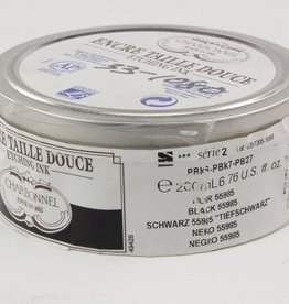 Charbonnel, Etching Ink, Very Dense Black 55985, Series 2, 200ml, Can