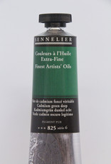 Sennelier, Fine Artists' Oil Paint, Cadmium Green Deep, 825, 40ml Tube, Series 6