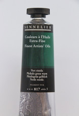 Sennelier, Fine Artists' Oil Paint, Phthalo Green Warm, 817, 40ml Tube, Series 3