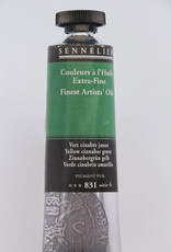 Sennelier, Fine Artists' Oil Paint, Yellow Cinnabar Green, 831, 40ml Tube, Series 4