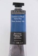 Sennelier, Fine Artists' Oil Paint, Manganese Blue, 328, 40ml Tube, Series 3