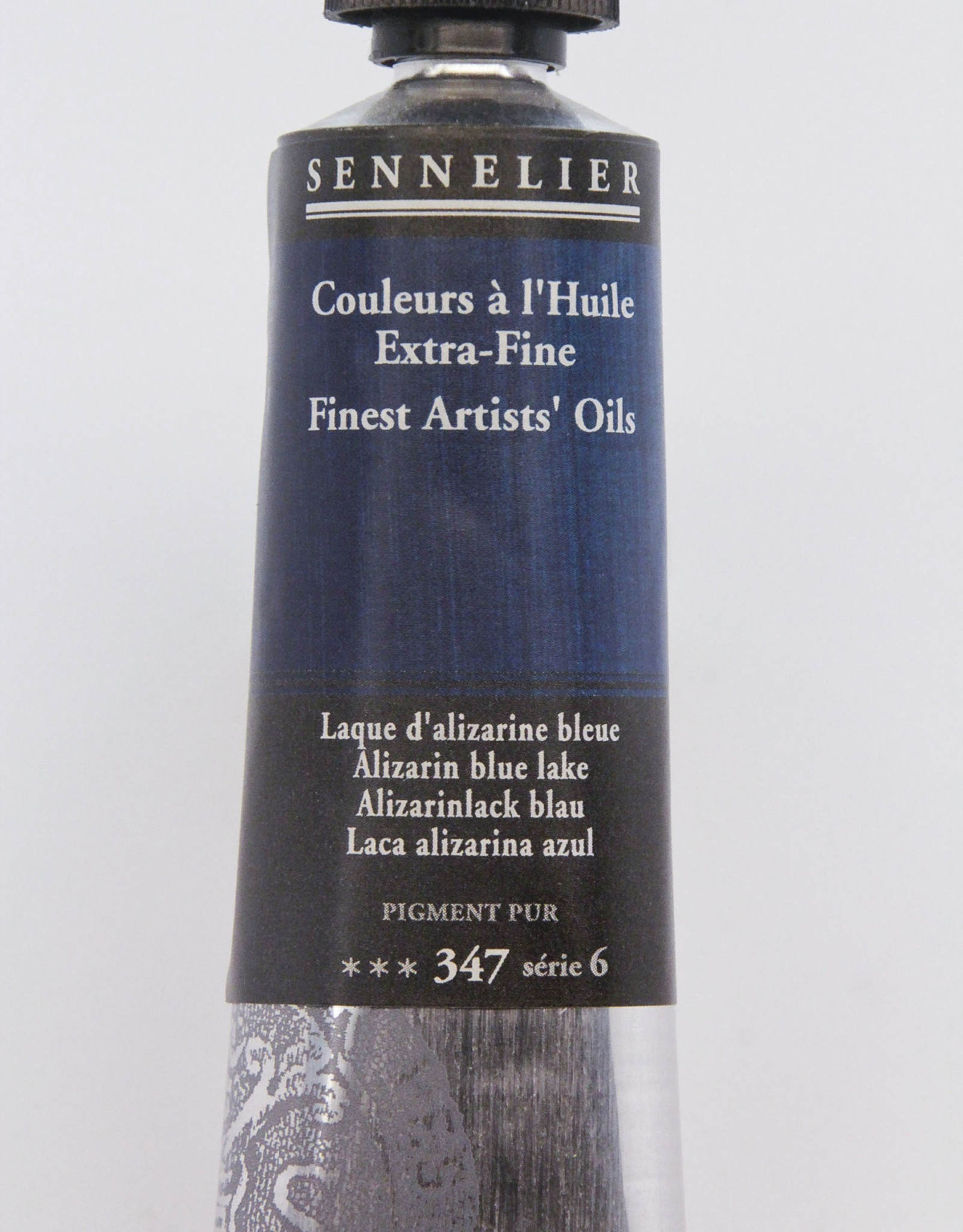 Sennelier, Fine Artists' Oil Paint, Alizarin Blue Lake, 347, 40ml Tube, Series 6