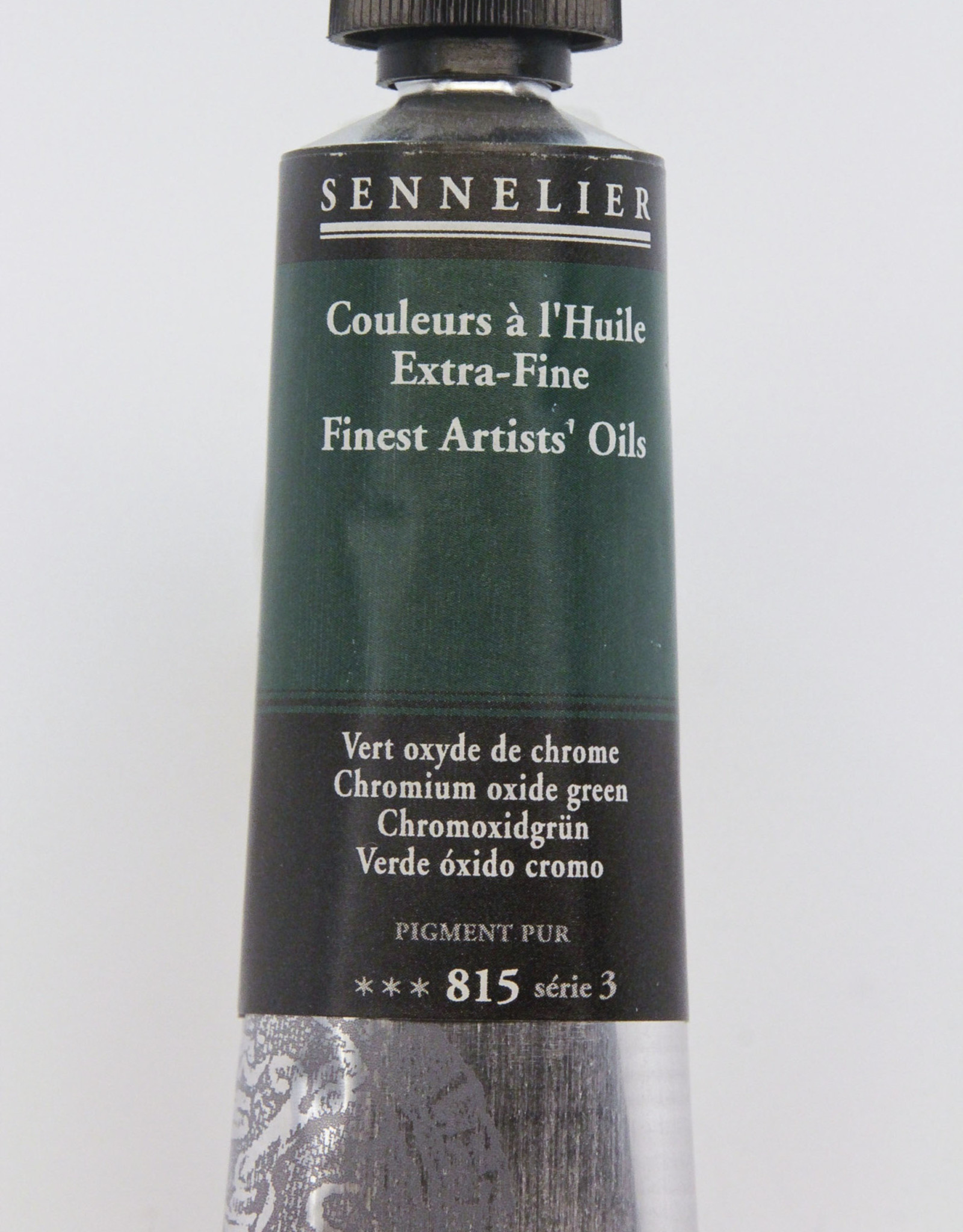 Sennelier, Fine Artists' Oil Paint, Chromium Oxide Green, 815, 40ml Tube, Series 3