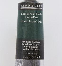 Sennelier, Fine Artists' Oil Paint, Chromium Oxide Green, 815, 40ml Tube, Series 3