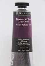 Sennelier, Fine Artists' Oil Paint, Magenta, 941, 40ml Tube, Series 5