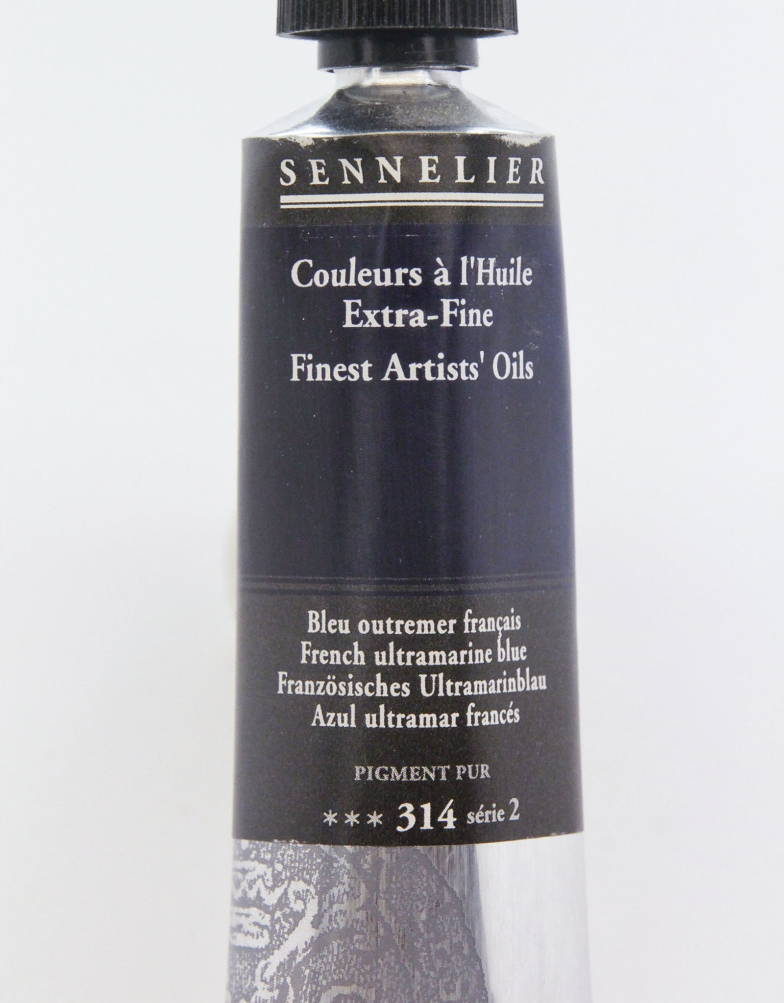 Sennelier, Fine Artists' Oil Paint, French Ultramarine Blue, 314, 40ml Tube, Series 2
