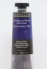 Sennelier, Fine Artists' Oil Paint, Ultramarine Deep, 315, 40ml Tube, Series 2