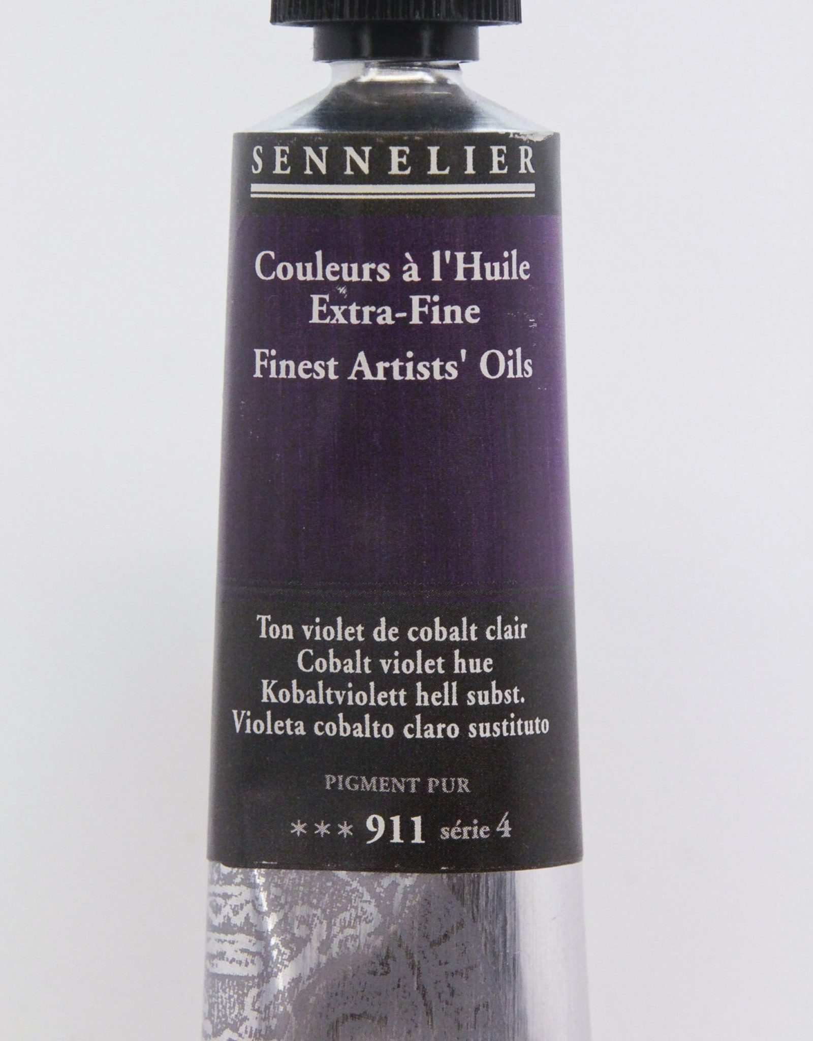 Sennelier, Fine Artists' Oil Paint, Cobalt Violet Hue, 911, 40ml Tube, Series 4
