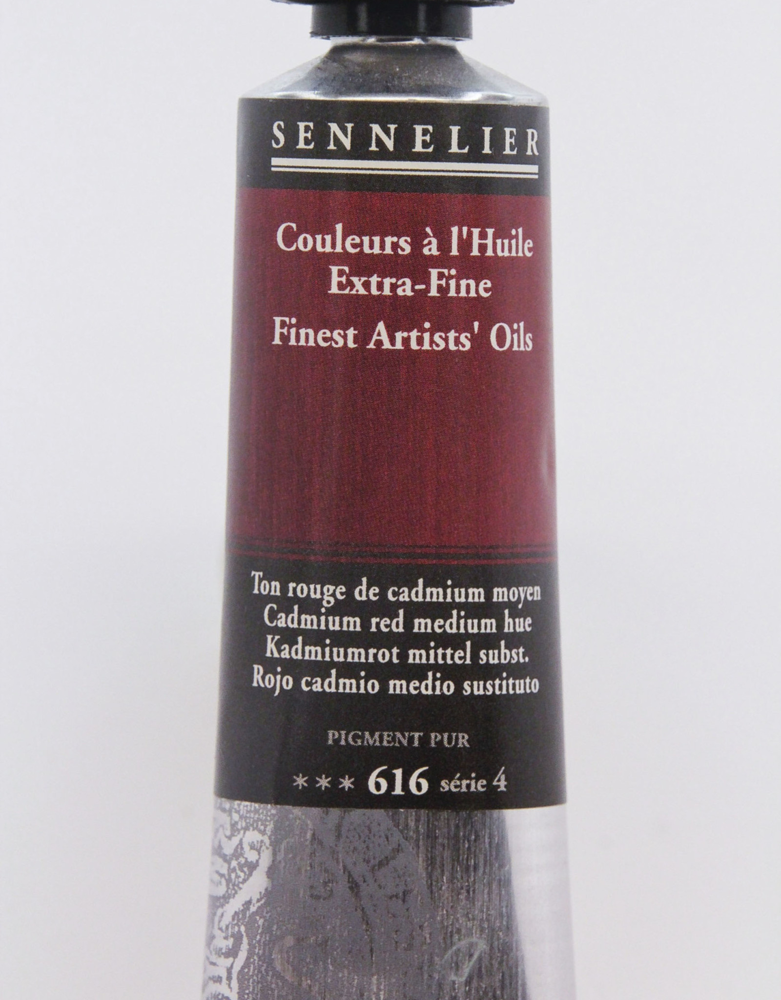 Sennelier, Fine Artists' Oil Paint, Cadmium Red Medium Hue, 616, 40ml Tube, Series 4