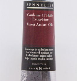 Sennelier, Fine Artists' Oil Paint, Cadmium Red Medium Hue, 616, 40ml Tube, Series 4