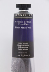Sennelier, Fine Artists' Oil Paint, Maganese Violet, 915, 40ml Tube, Series 3