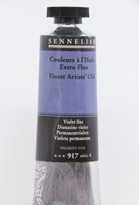 Sennelier, Fine Artists' Oil Paint, Dioxazine Violet, 917, 40ml Tube, Series 4