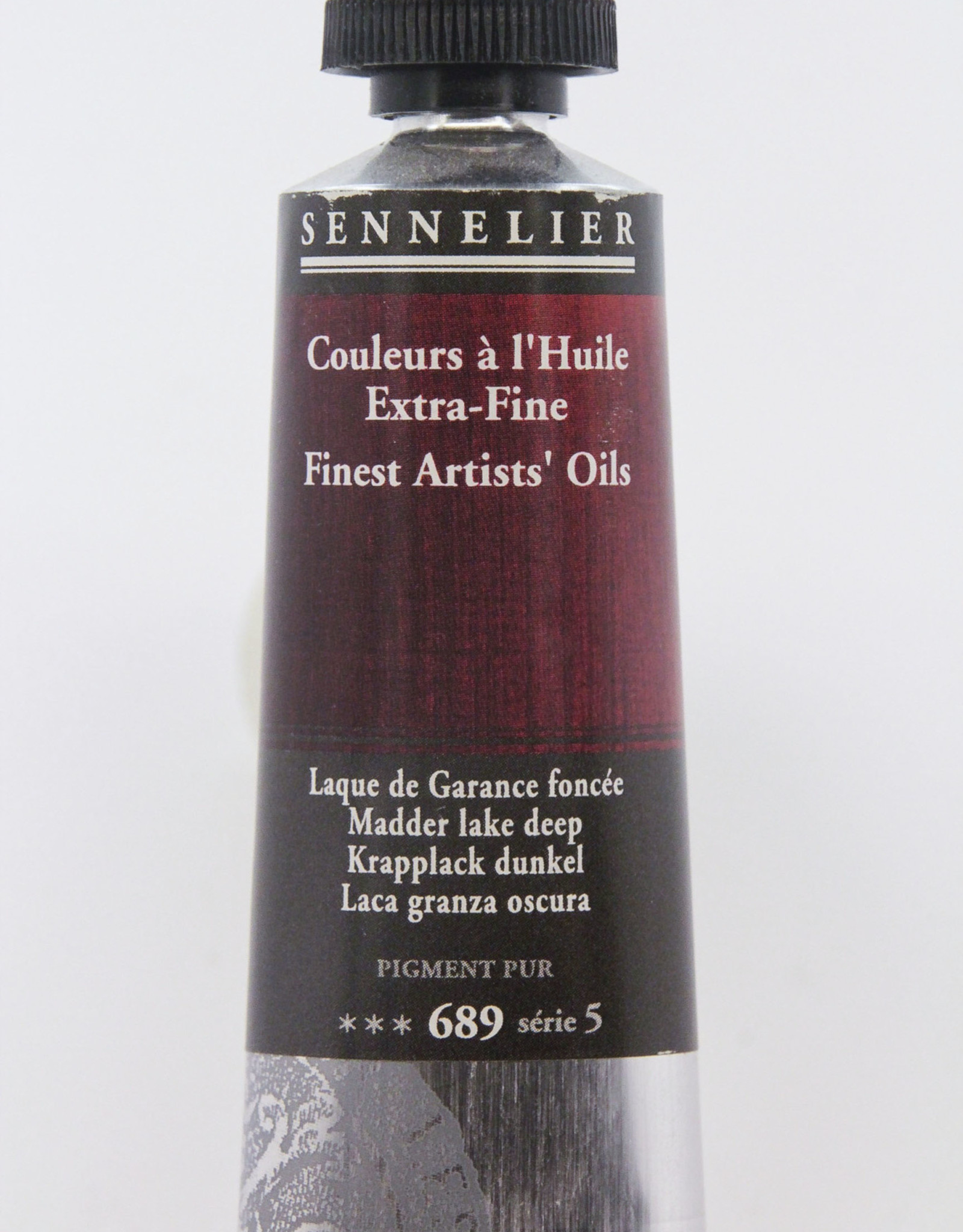 Sennelier, Fine Artists' Oil Paint, Madder Lake Deep, 689, 40ml Tube, Series 5