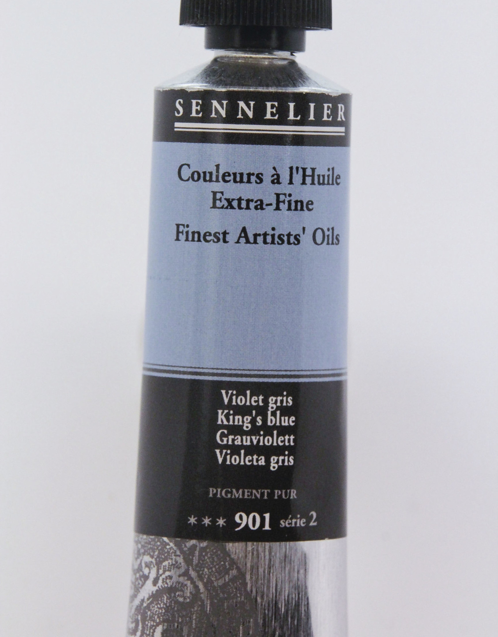 Sennelier, Fine Artists' Oil Paint, King's Blue, 901, 40ml Tube, Series 2