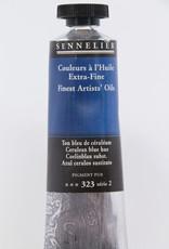 Sennelier, Fine Artists' Oil Paint, Cerulean Blue Hue, 323, 40ml Tube, Series 2