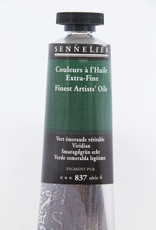 Sennelier, Fine Artists' Oil Paint, Viridian, 837, 40ml Tube, Series 4