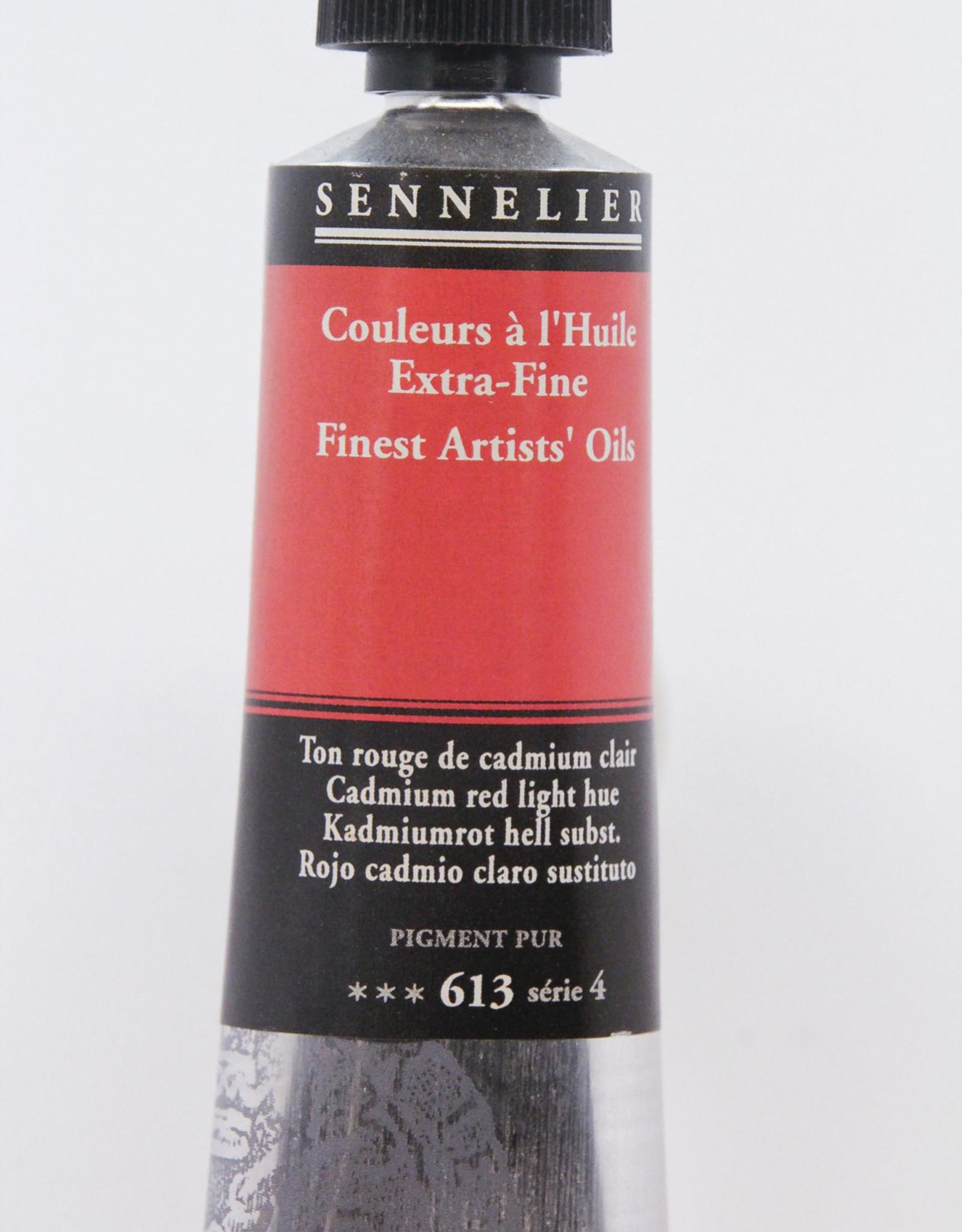 Sennelier, Fine Artists' Oil Paint, Cadmium Red Light Hue, 613, 40ml Tube, Series 4