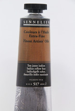 Sennelier, Fine Artists' Oil Paint, Indian Yellow Hue, 517, 40ml Tube, Series 2