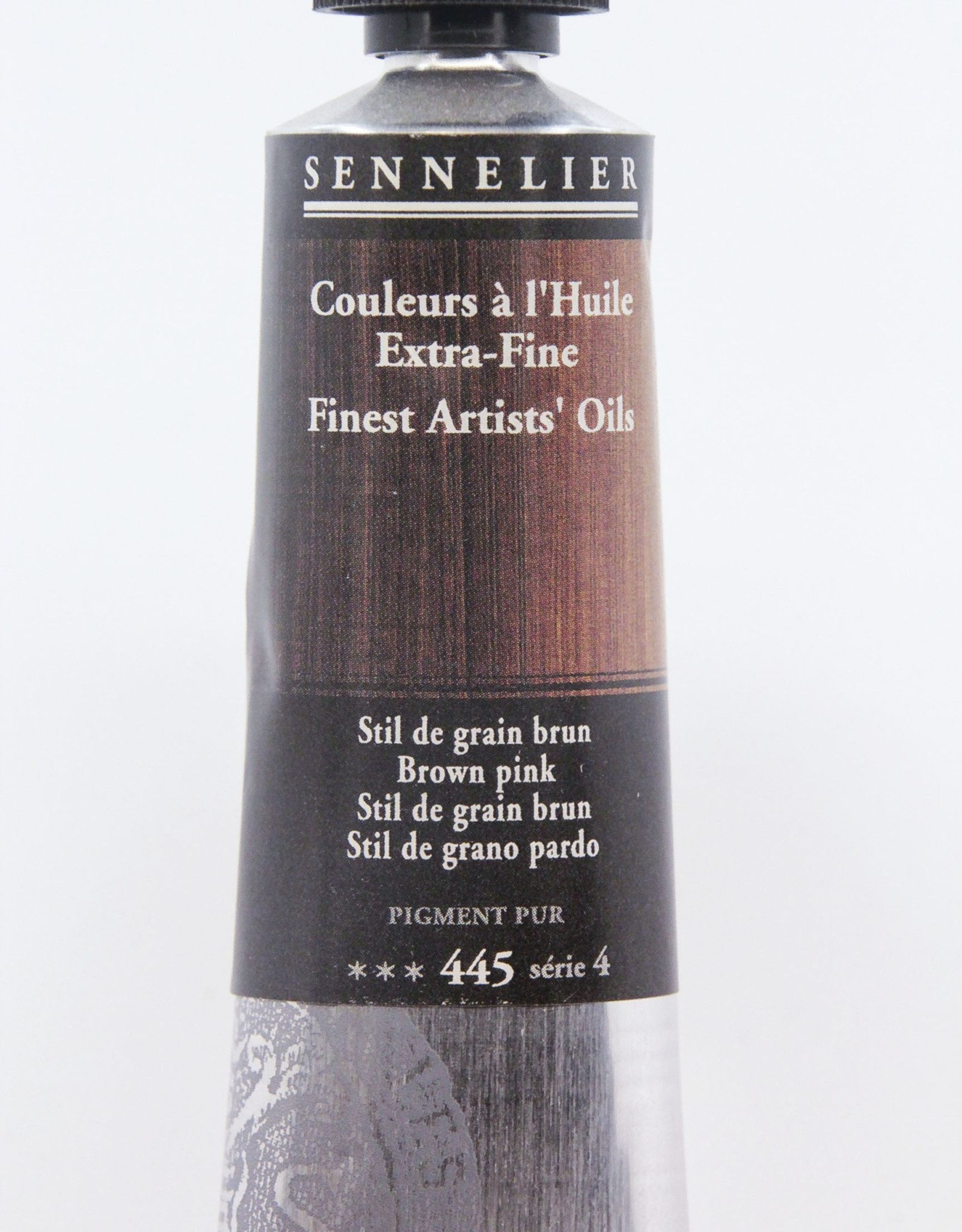 Sennelier, Fine Artists' Oil Paint, Brown Pink, 445, 40ml Tube, Series 4