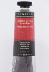Sennelier, Fine Artists' Oil Paint, Crimson Lake, 688, 40ml Tube, Series 3