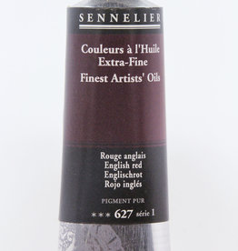 Sennelier, Fine Artists' Oil Paint, English Red, 627, 40ml Tube, Series 1