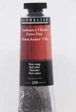 Sennelier, Fine Artists' Oil Paint, Red Ochre, 259, 40ml Tube, Series 1