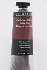 Sennelier, Fine Artists' Oil Paint, Tuscan Earth, 217, 40ml Tube, Series 1