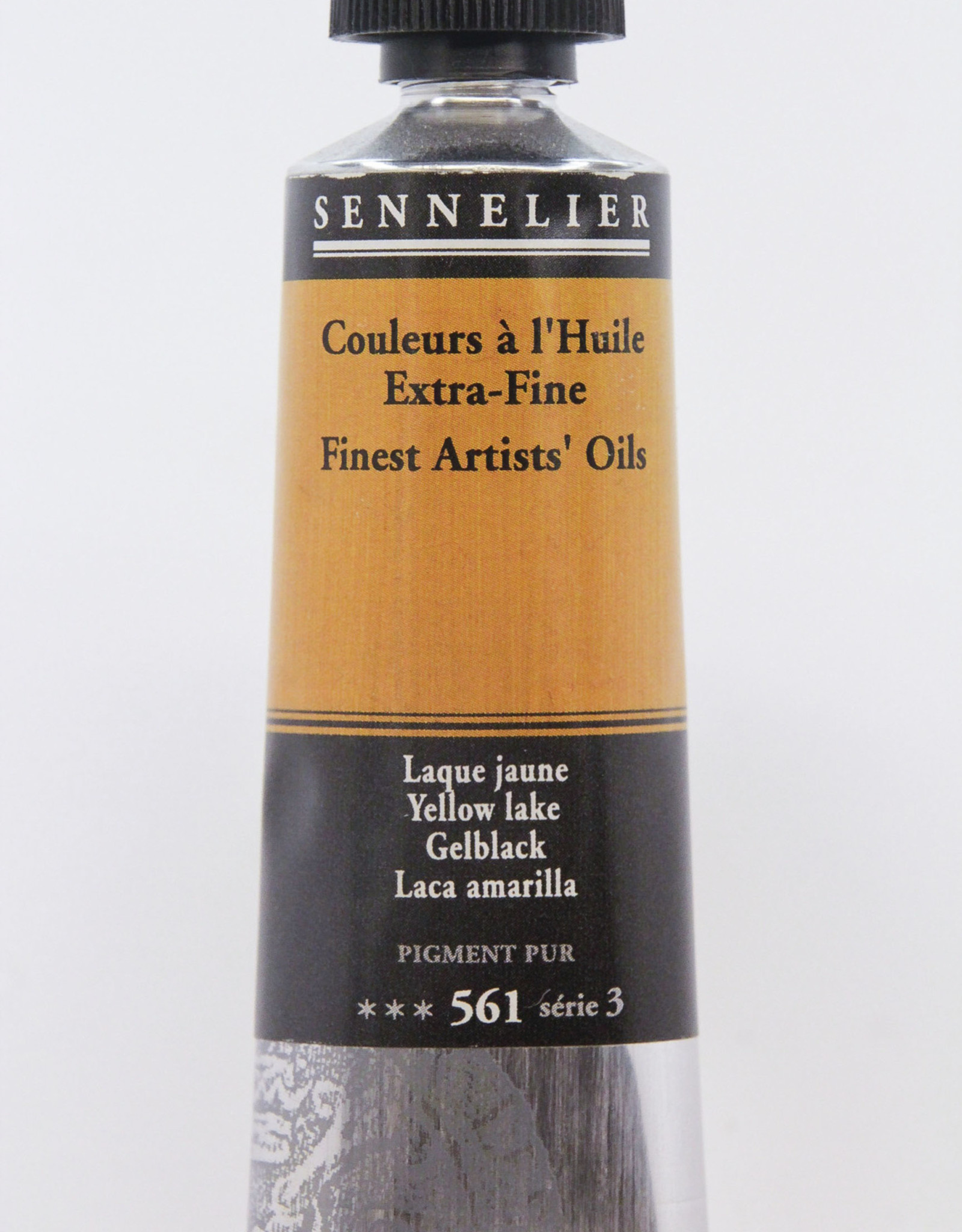 Sennelier, Fine Artists' Oil Paint, Yellow Lake, 561, 40ml Tube, Series 3