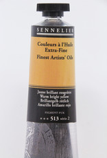 Sennelier, Fine Artists' Oil Paint, Warm Bright Yellow, 513, 40ml Tube, Series 2
