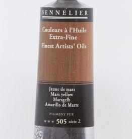 Sennelier, Fine Artists' Oil Paint, Mars Yellow, 505, 40ml Tube, Series 2