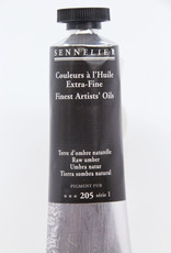 Sennelier, Fine Artists' Oil Paint, Raw Umber, 205, 40ml Tube, Series 1
