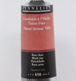 France Sennelier, Fine Artists' Oil Paint, Blush Tint, 650, 40ml Tube, Series 2