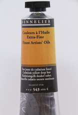 Sennelier, Fine Artists' Oil Paint, Cadmium Yellow Deep Hue, 543, 40ml Tube, Series 4