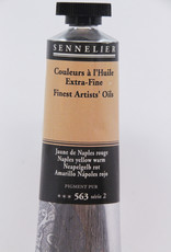 Sennelier, Fine Artists' Oil Paint, Naples Yellow Warm, 563, 40ml Tube, Series 2