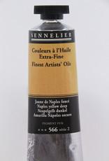 Sennelier, Fine Artists' Oil Paint, Naples Yellow Deep, 566, 40ml Tube, Series 2