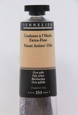 Sennelier, Fine Artists' Oil Paint, Pale Ochre, 253, 40ml Tube, Series 1