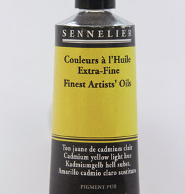 Sennelier, Fine Artists' Oil Paint, Cadmium Yellow Light Hue, 539, 40ml Tube, Series 4