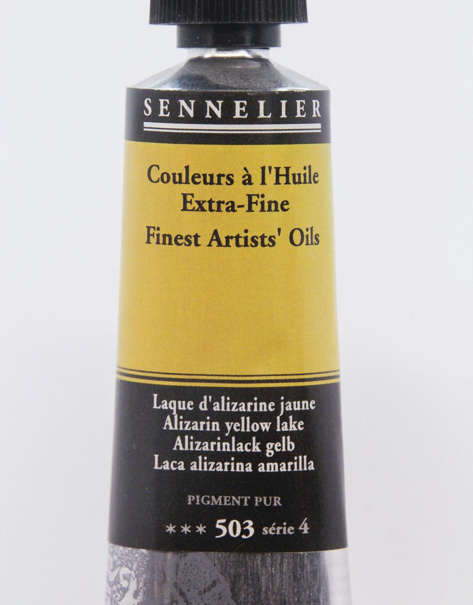 Sennelier, Fine Artists' Oil Paint, Alizarin Yellow Lake, 503, 40ml Tube, Series 4