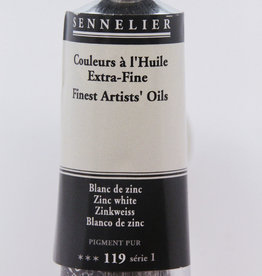 Sennelier, Fine Artists' Oil Paint, Zinc White, 119, 40ml Tube, Series 1