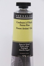 Sennelier, Fine Artists' Oil Paint, Nickel Yellow, 576, 40ml Tube, Series 4